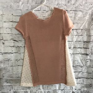 Women's sweater knit top.  Anthropologie.  Sz XS.
